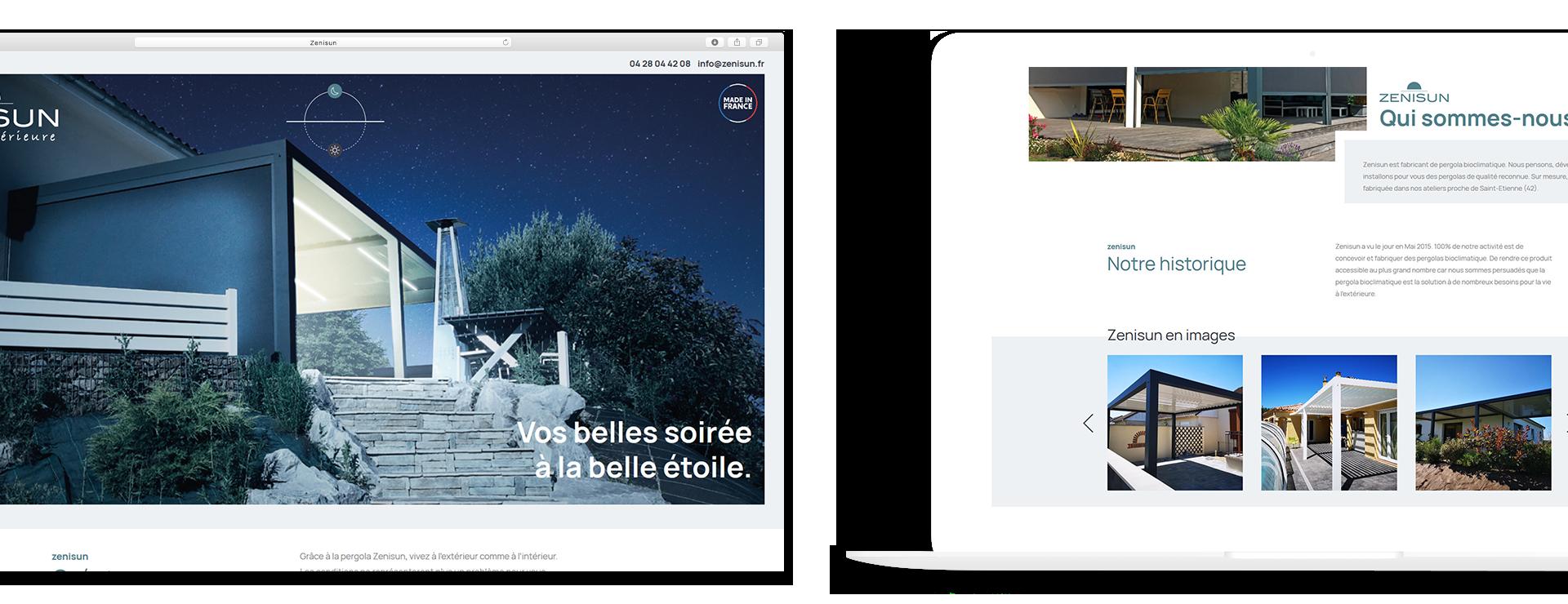 Zenisun web 1