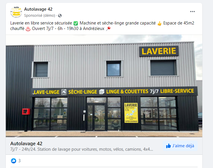 objectif interaction - Auto Lavage 42
