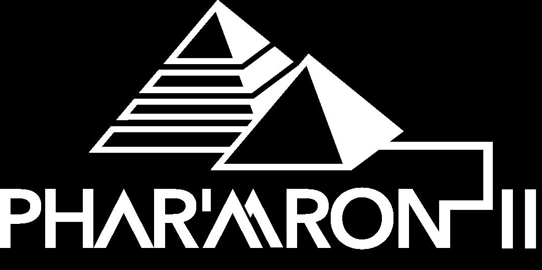 Logo Phar'aaron blanc png