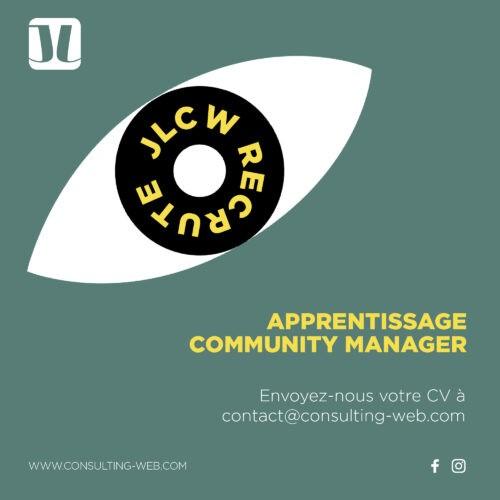 RECRUTEMENT JLCW-COMMUNITY-MANNAGEMENT